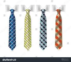 checkered silk ties template stock vector 202631281 shutterstock