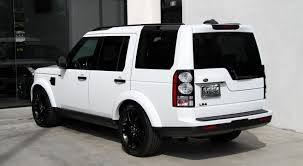 white land rover lr4 with black wheels 2014 land rover lr4 hse black design package stock 5988