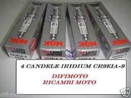 candele iridium moto 4 candles ngk laser iridium cr9eia 9 suzuki gsx r 1000 2009