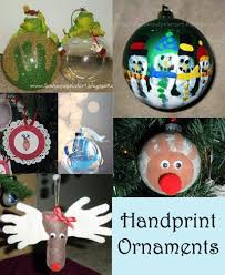 handprint ornament keepsakes 12 day of pinspiration