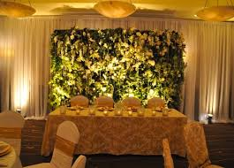 wedding backdrop vancouver living walls for your home or event greenscape