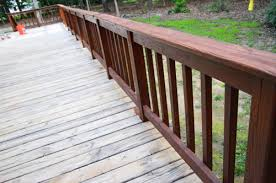 how to stain and seal a deck young house love