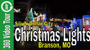 parade of lights branson mo 360 vr christmas lights at silver dollar city in 2017 youtube