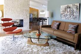 furniture modern living room design with beige tufted sofa and