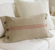 lumbar pillow cover pottery barn