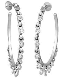diamond earrings on sale christian coquine 18k white gold with diamonds earring