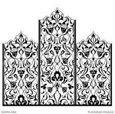 Decorative Wall Stencils Wall Art Graphics Stencils U2013 Modello Designs
