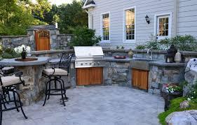 outdoor küche küchenschränke materialien für outdoor küchen