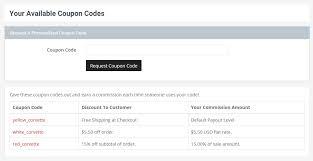 Vanity Promo Codes Idevaffiliate Affiliate Tracking Software Affiliate Program