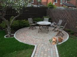 Simple Brick Patio With Circle Paver Kit Patio Designs And Ideas by 89 Best Little Circular Patios Images On Pinterest Garden