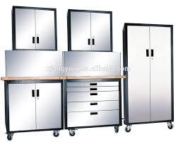 steel garage storage cabinets cool stainless steel garage storage cabinets 90 in wonderful small
