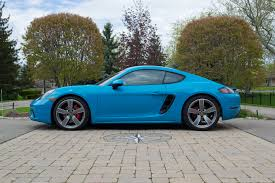 porsche cayman green 2017 porsche 718 cayman s review autoguide com news
