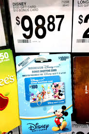 store gift cards money saver 100 disney gift cards with a bonus 10 gift card are