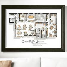 the office us tv show office floor plan dunder mifflin scranton