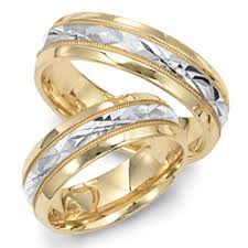 two tone wedding bands jewelry collection two tone wedding bands