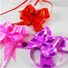 wholesale ornaments pull bow ribbon large size gift wrap