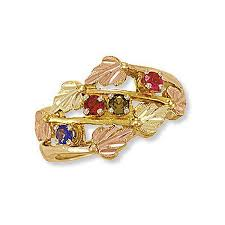 gold mothers rings gold mothers day rings 18 best black gold mothers rings images