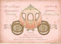 quinceanera invitations enchanted fairytale quinceanera invitations coach
