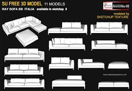 sketchup texture awesome free sketchup 3d model ray sofa bb