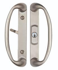 Patio Door Locks Hardware Sonoma Sliding Door Handle With Key Lock System Door Handles