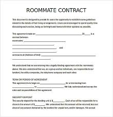 10 Vendor Non Compete Agreement Free Download Roommate Agreement How To Create Your Own Roommate