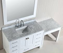 Bathroom Sink Vanity Combo 48 In Bathroom Vanity Combo Single Sink Vanity Set In White Finish
