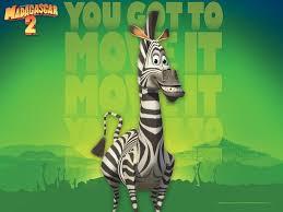 draw madagascar 2 wallpaper marty zebra hellokids