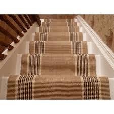 Stair Runner Rugs Sisal Stair Runner By The Foot Decorative Sisal Stair Runner
