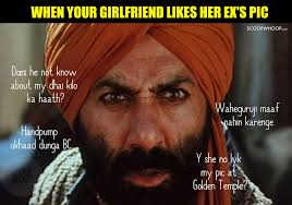 So Meme - these gadar memes are so funny they ll even get angry sunny paaji