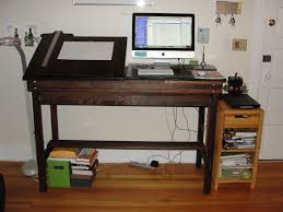 Computer Desk Work Station New Custom Standing Workstation Michelle Kondrich Illustration
