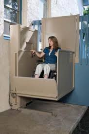 comparing portable and permanent vertical wheelchair lifts