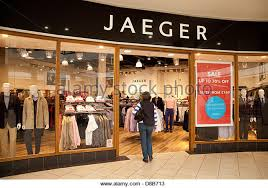designer outlet store jaeger store stock photos jaeger store stock images alamy