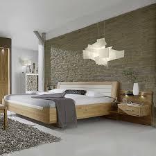 Schlafzimmer Mit Metallbett Schlafzimmer Komplettset Darand Aus Eiche Creme Pharao24 De