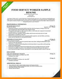 food service resume template waiter resume template waiter resume service resume restaurant