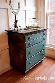 Old Furniture Makeovers Vintage Chest Of Drawers Revived With A Shipping Pallet A Chest