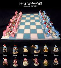 quaggan chess set yay guild wars 2 geeky pinterest
