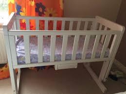 troll bedside co sleeping baby crib john lewis in long ashton