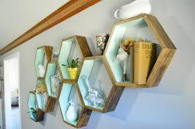 Living Room Shelves by Diy Honeycomb Shelves Loving Here