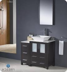 Bathroom Vanity With Side Cabinet Torino 36