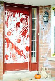 Zombie Apocalypse Halloween Decorations Front Doors Zombie Apocalypse Door Door Ideas Front Door Front