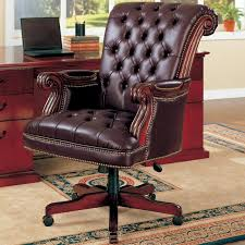 Desk Chairs With Wheels Design Ideas Leather Desk Chair With Wheels Design Ideas Eftag