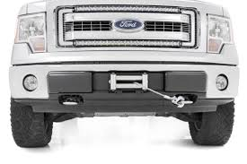 Ford F 150 Truck Bed Dimensions - hidden winch mounting plate for 09 14 ford f 150 pickup 1010