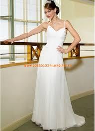 robe de mari e simple pas cher robe de mariée pas cher en mousseline simple