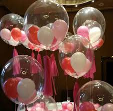 party decor 36 inches bobo clear balloons wedding new year