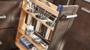 kitchen sink cabinet caddy base cabinet pullout w utensil bins