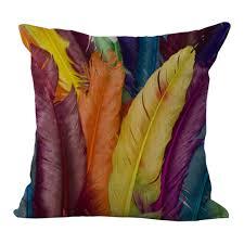 online get cheap feather decorative pillows aliexpress com
