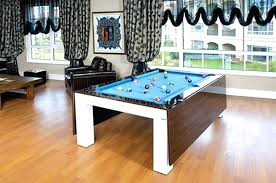 dining room pool table combination best indoor dining room pool table combo boundless table ideas image