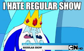Funny Regular Show Memes - ice king