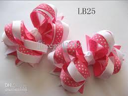 ribbon hair bows wholesale baby dots ribbon hair bows hair hairbows