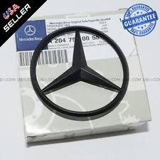 mercedes black car truck emblems ebay